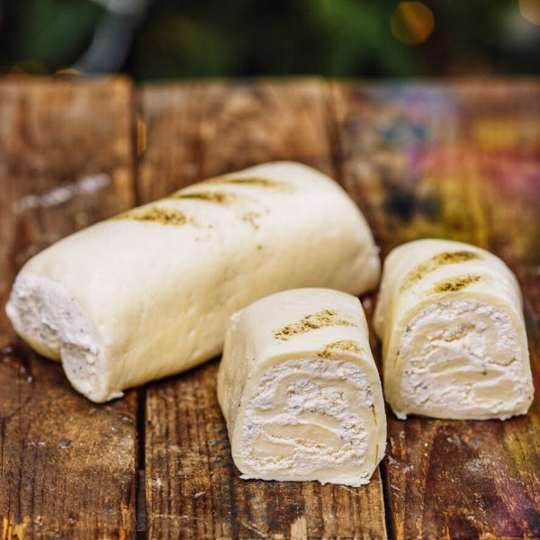 рулет з сиру моцарелла