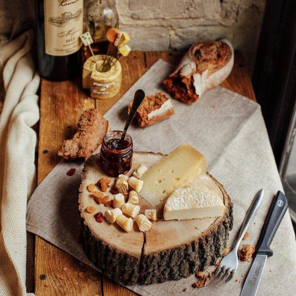 Cheese&wine tasting