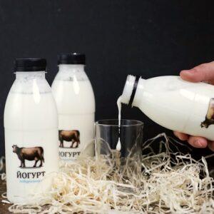 йогурт коров'ячий питний