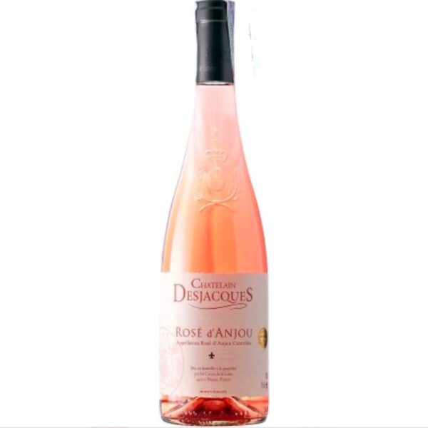 Напівсолодке рожеве вино Rose d'Anjou